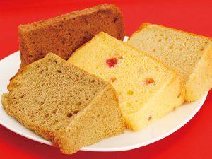 シフォンケーキのカット つくば市のケーキ屋さん