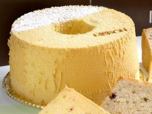 シフォンケーキのホール つくば市のケーキ屋さん