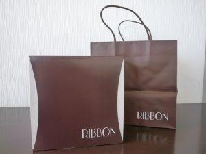 つくば市のケーキ屋さん「RIBBON」贈答品パッケージ
